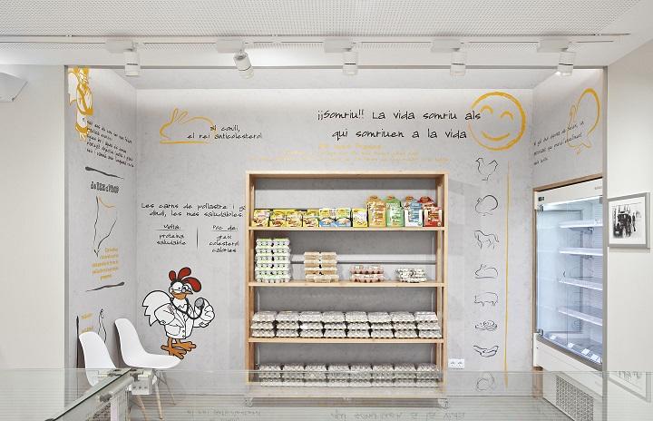 Barea+Partners Pollos planes. Visual Merchandising Store Design. Diseño de tiendas