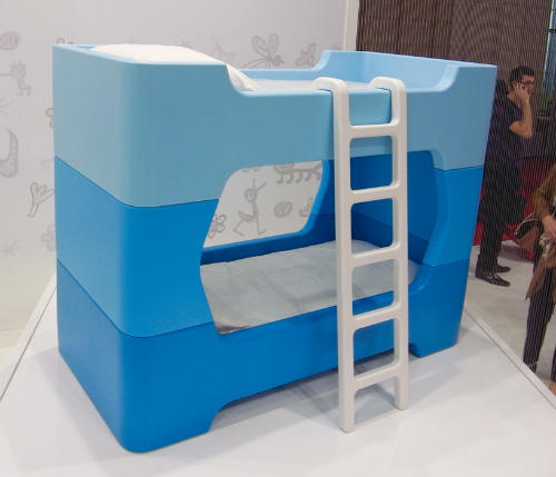 Bunky-by-Marc-Newson-Bunk-Bed Dormitorios juveniles con estilo