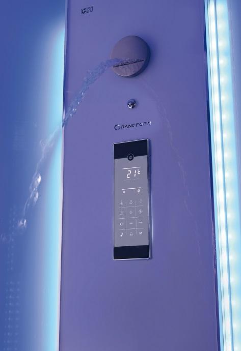 Como cambiar bañera por cabina de ducha . Grandform multifunción con teclado tactil