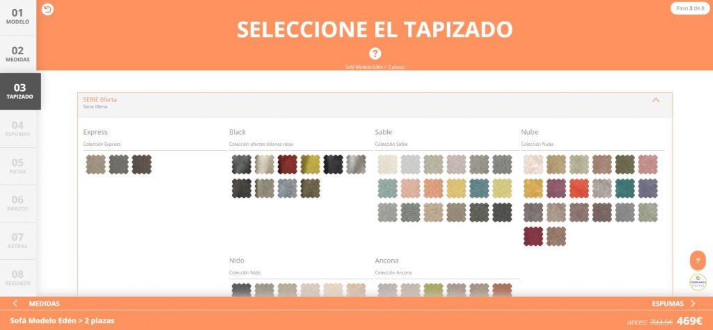 configurador sofa barato sofavalencia.com