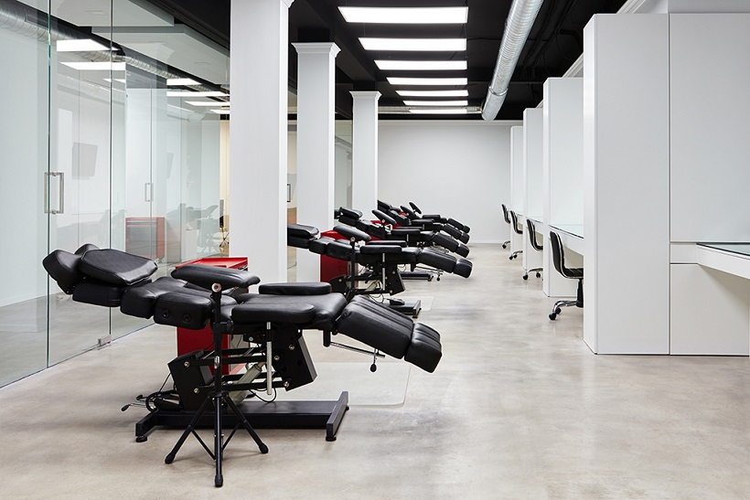 Matias Noble Art Gallery Valencia Centro tatuaje Valencia . Setrabe interiorismo. Sala tatuaje