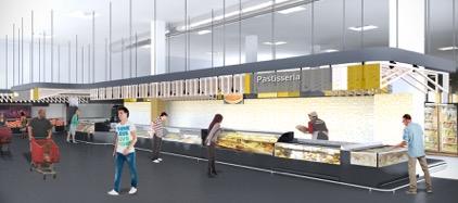 Clave diseño de espacios comerciales 3g office Raul Escudero