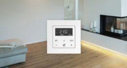 Toma el control de la temperatura con el sistema LB Management de JUNG