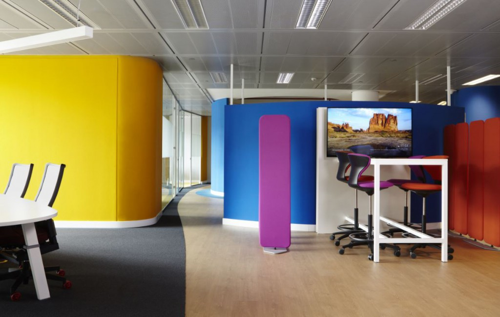 Coworking Endesa by 3g office . Hablando de workspace
