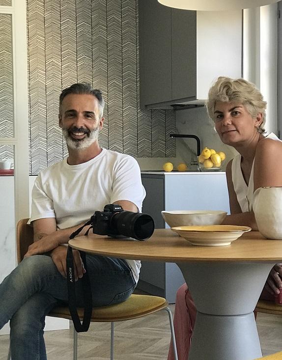 Cristina Rodríguez Goitia. Estilista de decoracion y David Montero Fotógrafo de Interiorismo