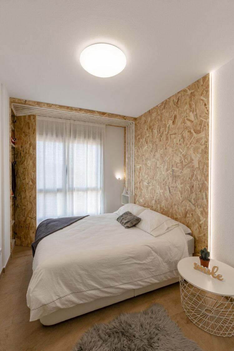 Mari Carmen Ortuño. Ideas para decorar un dormitorio con OSB .