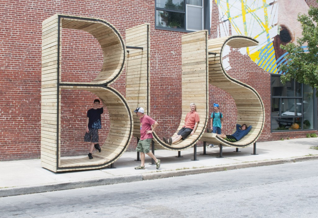 Estudio mmm... de Madrid para TRANSIT – Creative Placemaking with Europe en Baltimore.