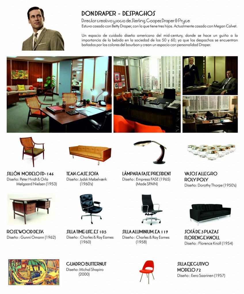 Don Draper Office Mad Men