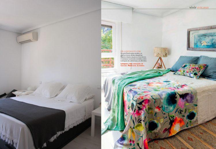 cómo decorar tu dormitorio. Estilismo deco. Cristina Rodríguez Goitia