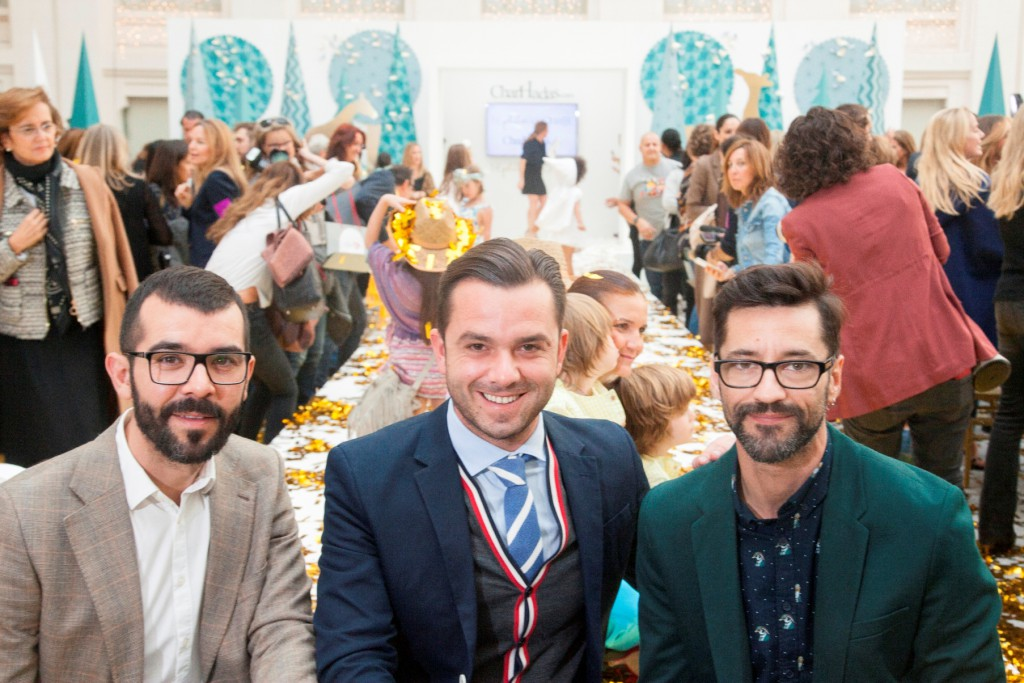 Empaperart junto a Manuel Espejo Origami empaperart petit fashion week