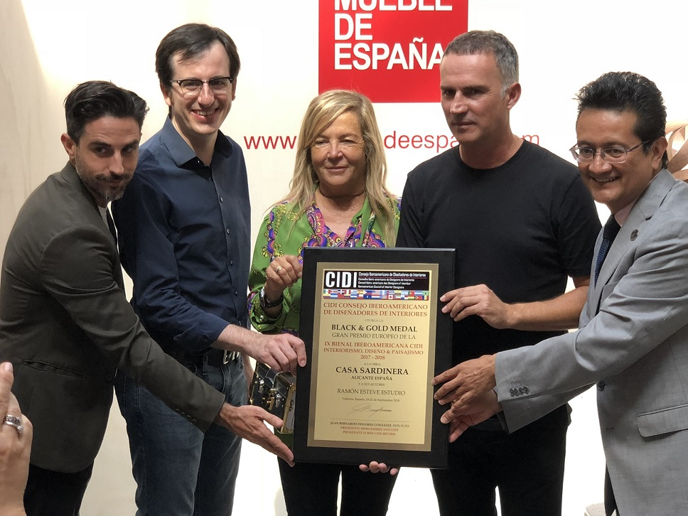 Feria Habitat 2018. Premio Cidi a Ramon Esteve. Casa Sardinera