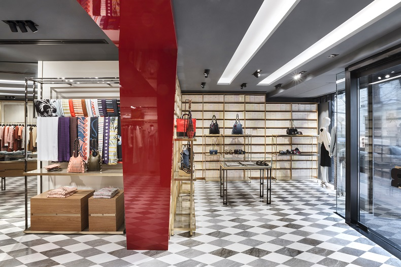 Flagship Sonia Rykiel en Madrid By ManoloYllera . Vudafieri-Saverino Partners