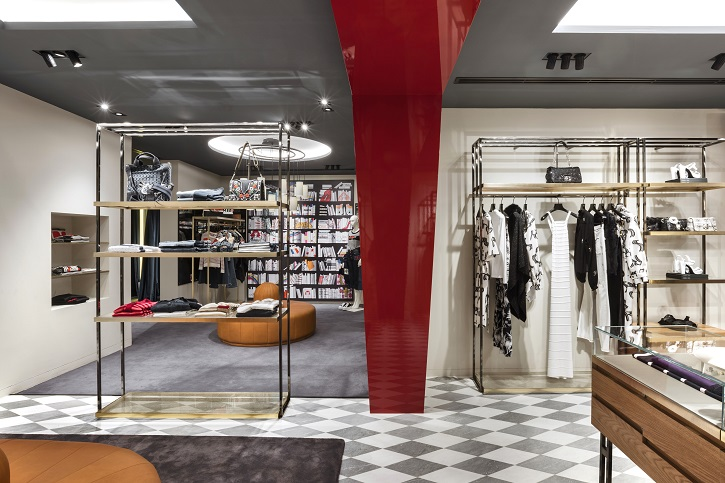 Vudafieri-Saverino Partners. Flagship Sonia Rykiel en Madrid