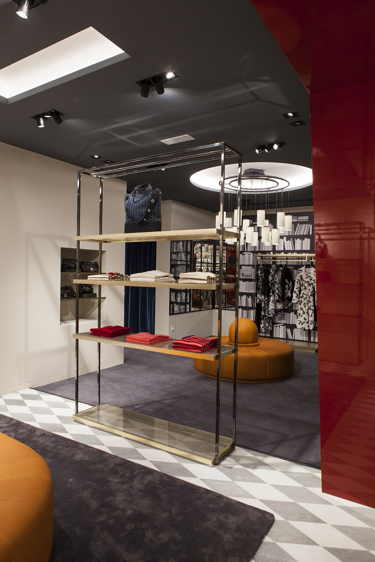 Flagship Sonia Rykiel Madrid Foto By ManoloYllera Vudafieri-Saverino Partners.