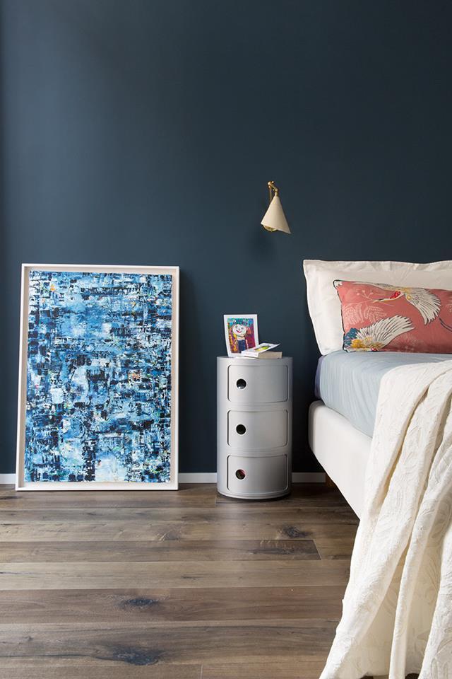 Francesca Bertuglia Architetto. Farrow & Ball Hague Blue Foto di Serena Eller 1