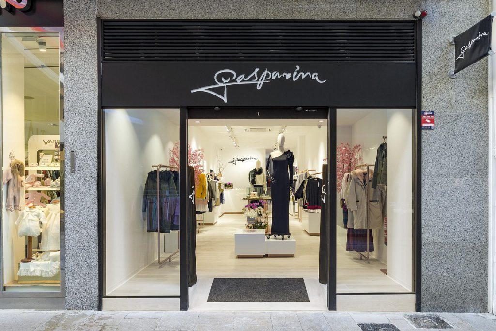 Gasparina Castellón. proyecto Retail Estudio Huuun de Valencia Miguel Lozano de la Mota