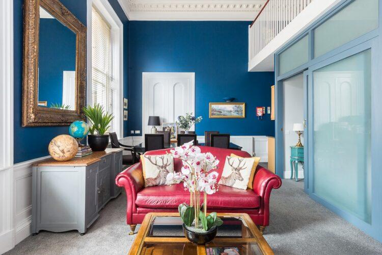 Gorgeous Regency diseño de interiores inspirado por los Bridgerton