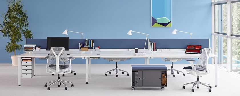 Herman Miller hero sense desks