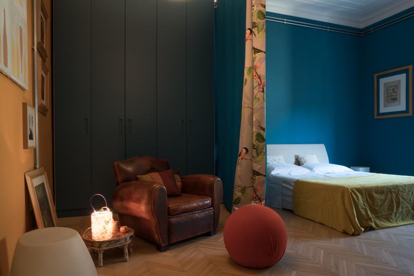 Hogar y Reiki. Dormitorio. Marisa Coppiano Arquitecto. Turín Decoracion y reiki