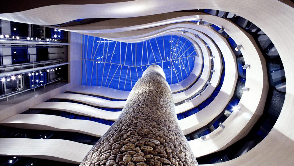 Hotel-Silken-Domine-Bilbao-Atrio_ Interioristas y decoradores.
