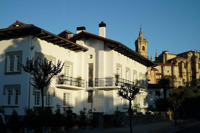 Hotel Villa Magalean Hondarribia Pais Vasco. Decoración hotel . Exterior