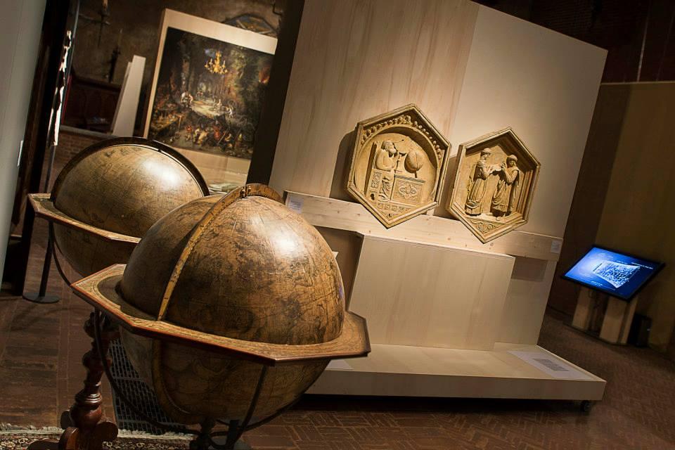 I Globi del Coronelli da Firenze e le formelle dal Campanile del Duomo di Firenze