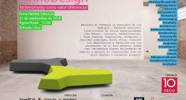 #InnoDesign. Interiorismo como valor diferencial. 21/9 Agora Nude.