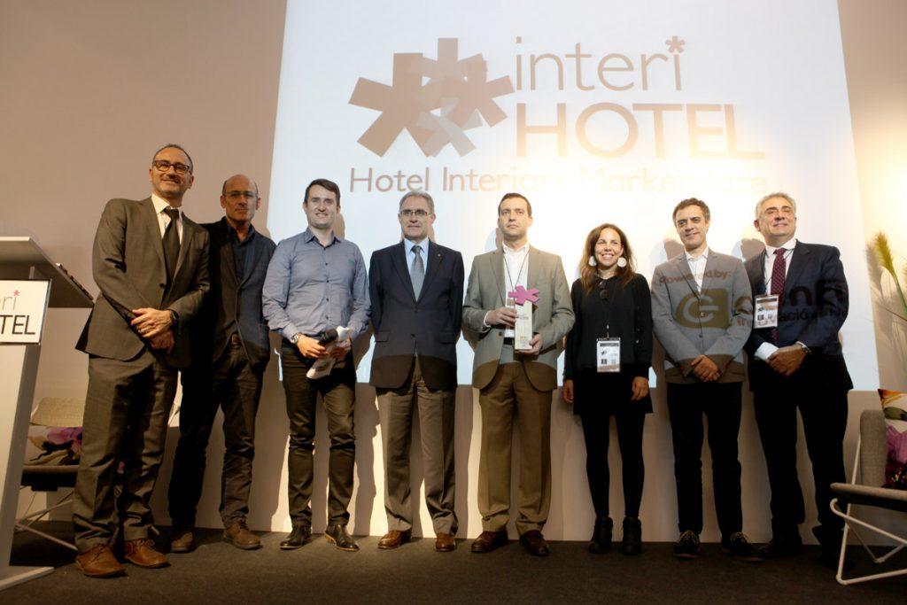 Inauguracion y premios InteriHOTEL 2016. Susanna Cots, Juan Mellén RED . Interihotel Barcelona 2017 del 25 al 27 de Octubre
