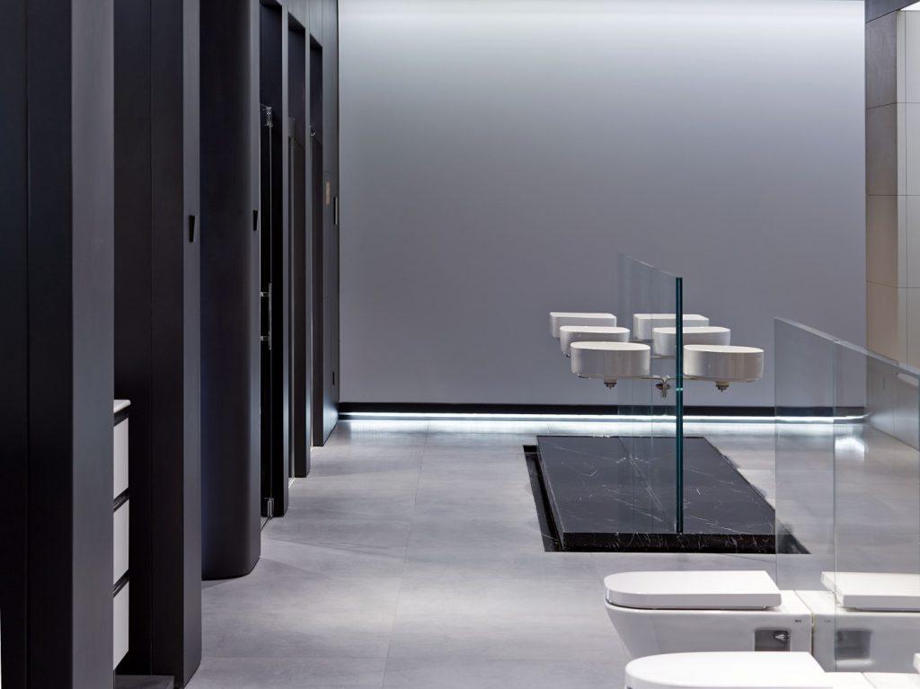 Interior_RocaBaijingGallery ma yansong Store Design. Diseño de tiendas