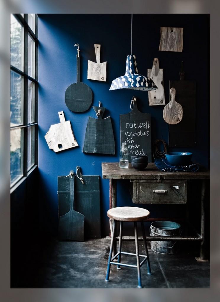 Color y bienestar. Azul índigo