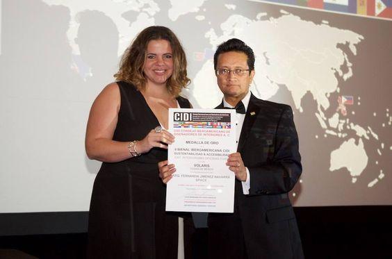 Jimena Fernández de Space Arquitectura Premio Cidi. Enadii Woman 2016 México