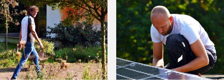 Jonathan y Wouter. Masters in solar. instalaciones fotovoltaicas en España