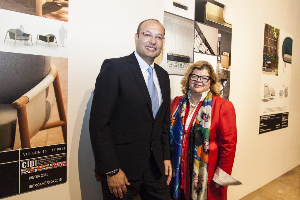 Juan Carlos Muñoz, presidente, y Amparo Bertomeu, directora general de ANIEME