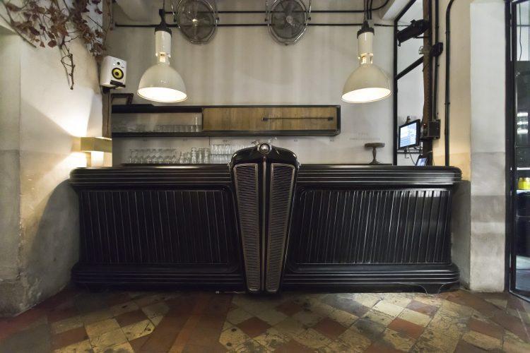 Showroom bar KIKEKELLER Madrid Malasaña. Foto Alex Fernández