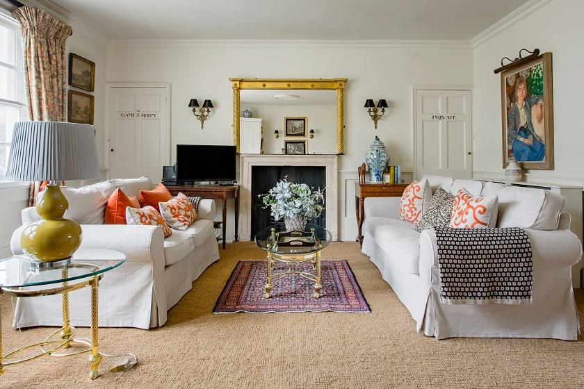 Luxury Regency Apartment . Diseño de interiores inspirado por los Bridgerton