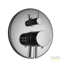MONOMANDO EMPOTRAR BUADES TERMOSTATICO. Como instalar una columna de ducha termostática