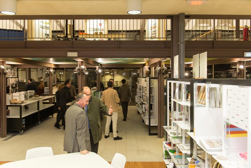 galeria de materiales coam colegio de arquitectos de Madrid