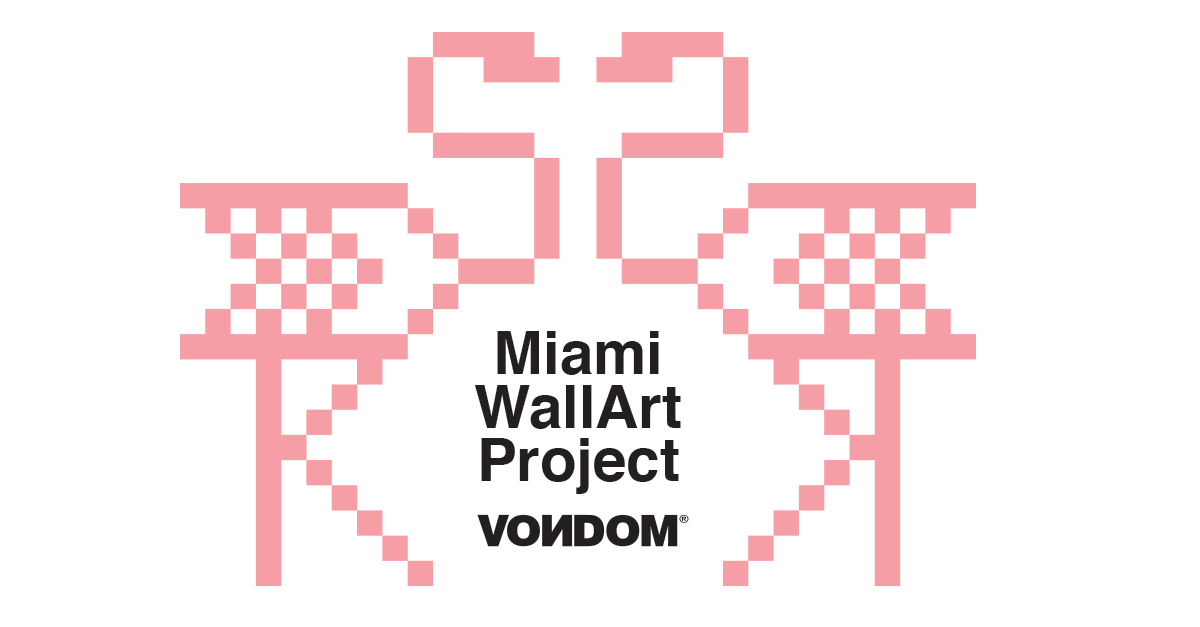 miami_wallart Vondom y Ramon Esteve Art Bassel Concurso Vondom Miami