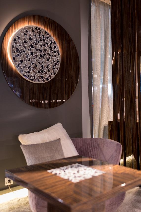 Monrabal Chirivella. Colección diseño hotel Aneta Mijatovic Feria habitat. Detalle cerámica Foto Jorge g. Romeu