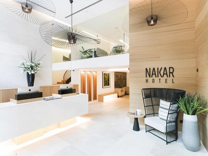 Nakar Hotel - Palma de Mallorca - Reception Nakar Hotel con tecnología Jung