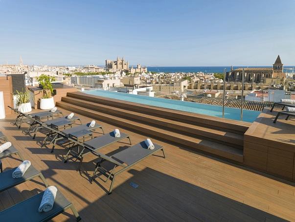 Nakar Hotel - Palma de Mallorca - Rooftop Nakar Hotel con tecnología Jung