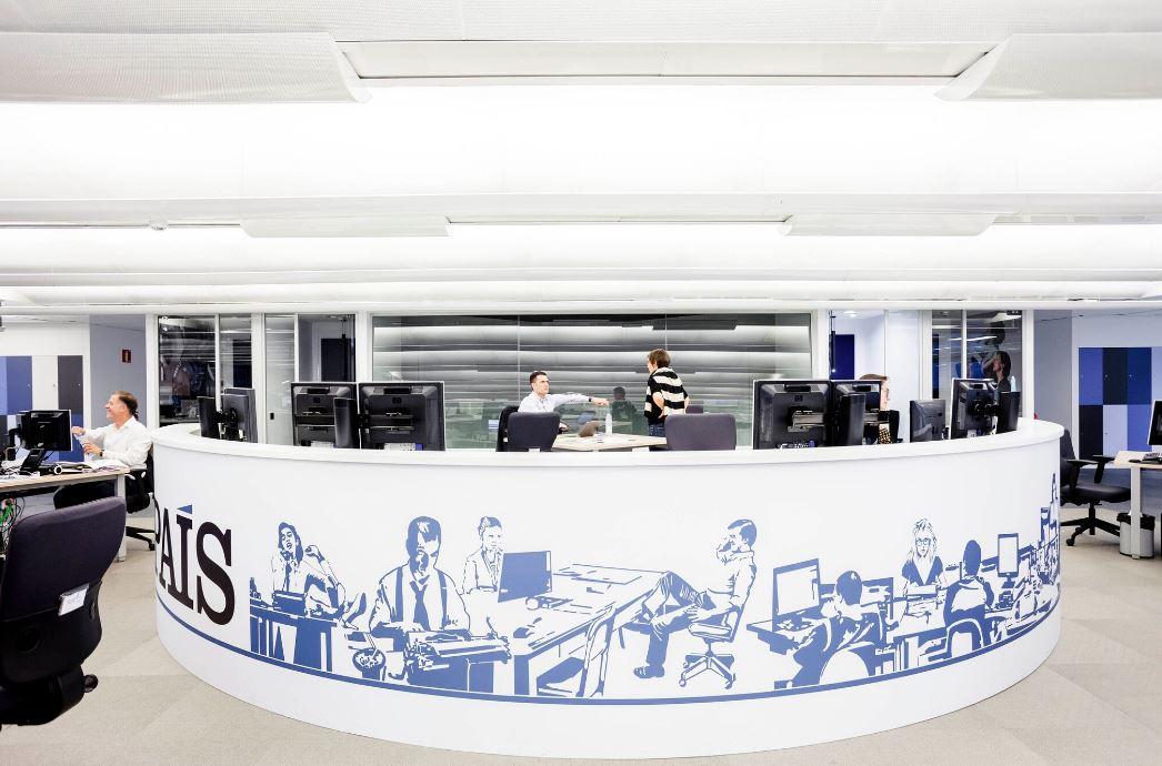 Redaccion de El País. Workplace . Open Space .3 Cómo se trabaja en un periodico 10