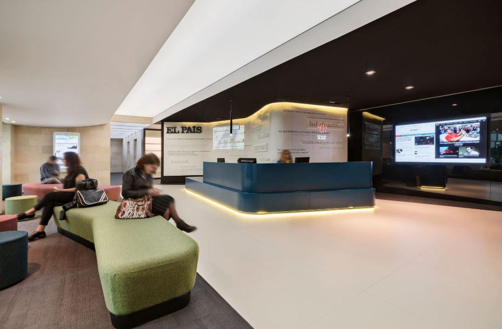 Oficinas de El País. Workplace . Open Space .3 Cómo se trabaja en un periodico 12