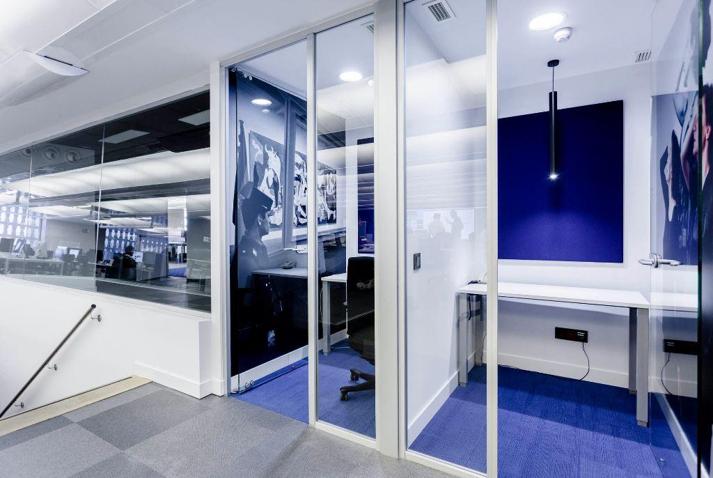 Oficinas de El País. Workplace . Open Space .3 Cómo se trabaja en un periodico 8