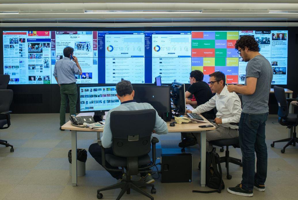 REdacción de El País. Workplace . Open Space .3 Cómo se trabaja en un periodico2