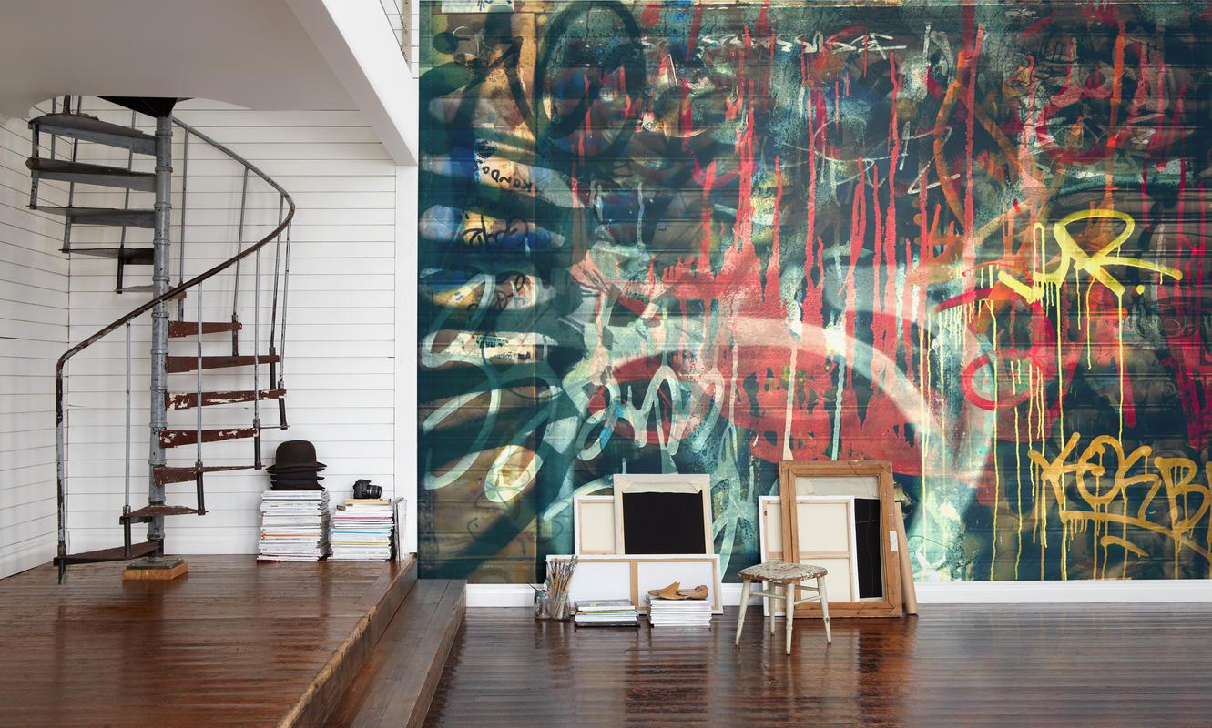Pon Un Grafiti En Casa 10decoracion - Graffitis-en-casa