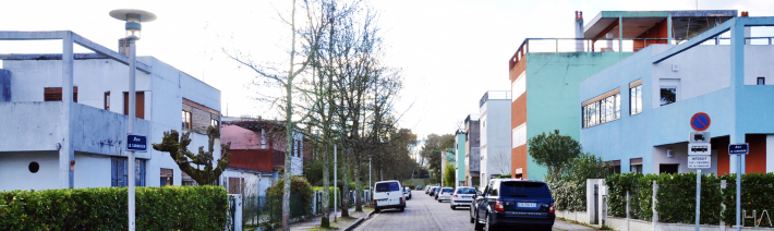 barrio PESSAC LE CORBUSIER jUNG