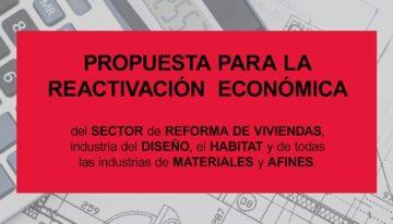 El sector de la reforma de viviendas, diseño y habitat se moviliza para impulsar su actividad económica