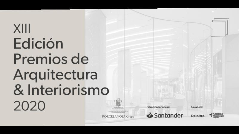 PREMIOS PORCELANOSA 2020 ARQUITECTURA E INTERIORISMO. Concursos de diseño 2020