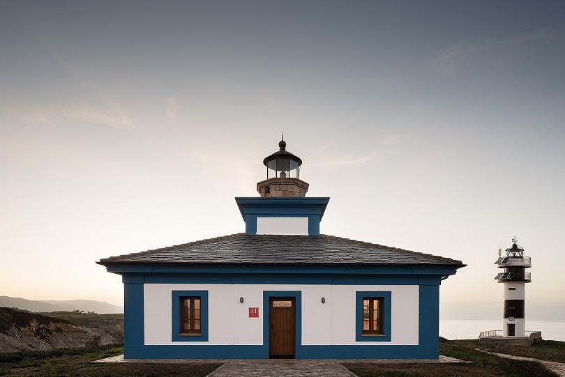 Pf1 El primer faro Hotel en España. Faro de Punta Pancha Ribadeo